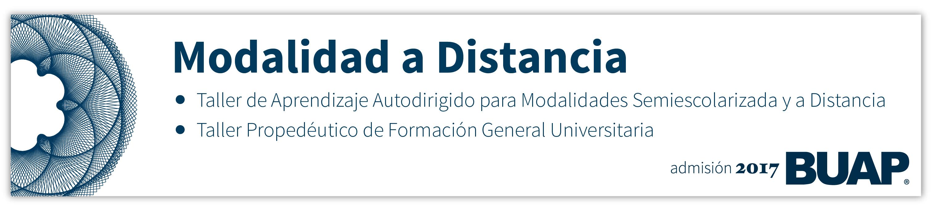 Banner: Taller de Aprendizaje Autodirigido para Modalidades Semiescolarizada y a Distancia